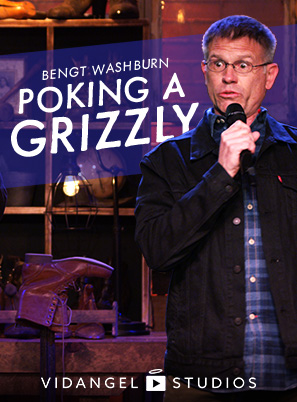 Image of Bengt Washburn: Poking a Grizzly