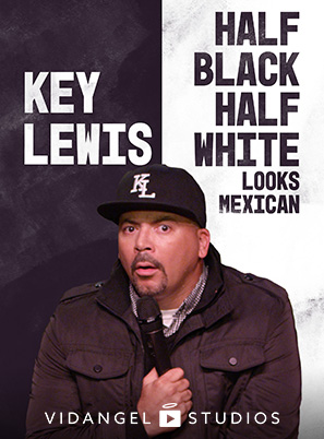 Image of Key Lewis: Half Black, Half White, Looks Mexican