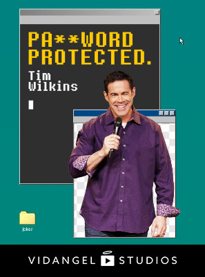 Image of Tim Wilkins: Password Protected