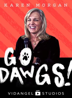 Image of Karen Morgan: Go Dawgs!